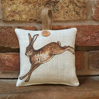 Hanging Lavender Sachet - Leaping Wild Hare