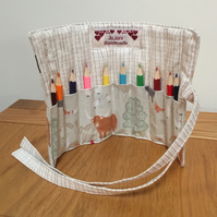 Pencil Roll-Farmyard Animals