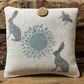 Hanging Lavender Sachet- Rabbits and Bees