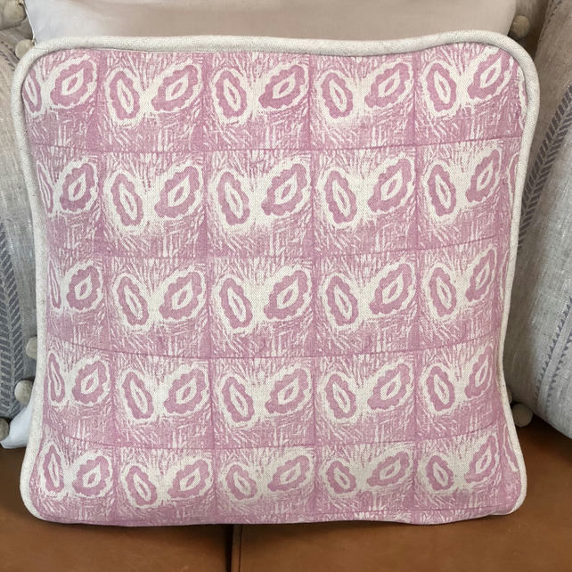 Hand Printed Decorative Cushion