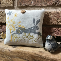 Hanging Lavender Sachet-Leaping Wild Hare