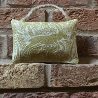 Hanging Lavender Sachet-Leaping Hare