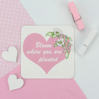 Bloom Where You Are Planted Magnet - Mother's Day gift, Birthday gift, Mum