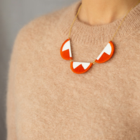 EBBE necklace in Burnt Orange