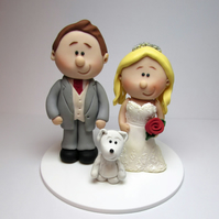 Personalised Bride And Groom Wedding Cake Topper,  Gift, Custom made to order