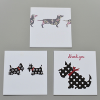 Multipack Assorted Dog Blank Notecards