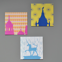 Multipack Bristol Skyline Blank Notecards
