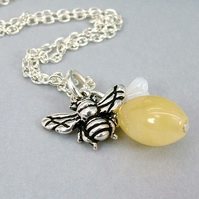 Sweet as a Honey Bee Necklace