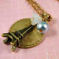 Je T'Aime Necklace - Romantic Vintage Style