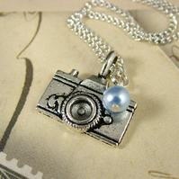 Camera Necklace - Three Looks in One