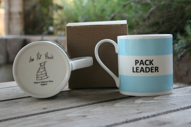 Pack Leader Hoop Mug (choice of ten colours)