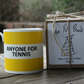 Anyone For Tennis Hoop Mug Gift Boxed (choice of ten colours)