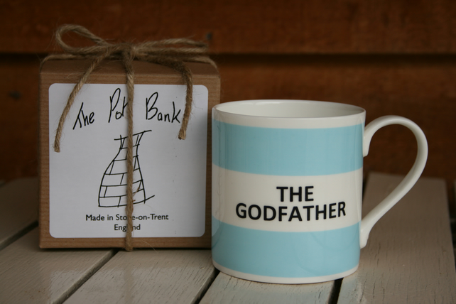 The Godfather Hoop Mug Gift Boxed (choice of ten colours)