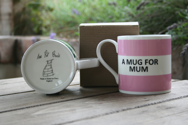 A Mug For Mum Hoop Mug Gift Boxed (choice of ten colours)