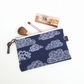 Organic Cotton Canvas Make Up Pouch, cosmetics, purse, wallet, Mothers day