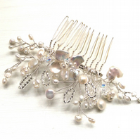 Bridal hair accessories, wedding hair accessories, hair comb,