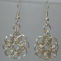 Parallel Weave Chainmaille Earings