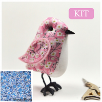 The Tilly Bird Kit Blue Floral