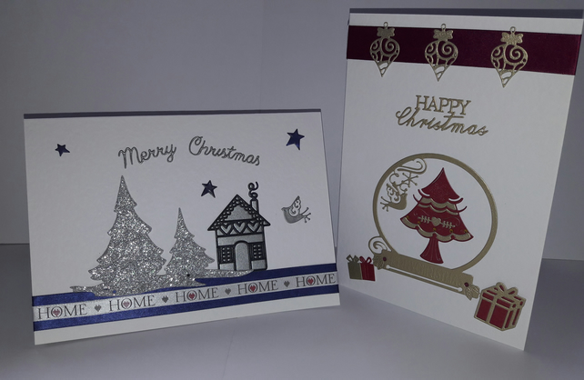 Pk of 3 Christmas Cards