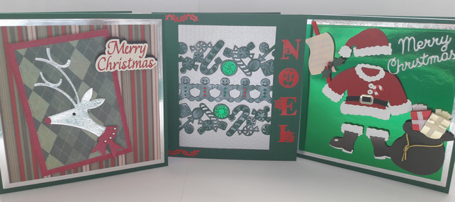 3Pk of Christmas Cards