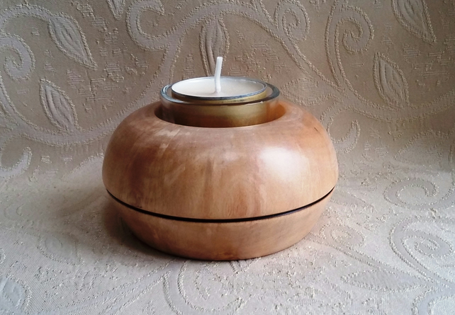 NEW! Birch tealight holder 235