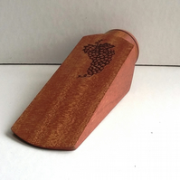 NEW! Sapele Large Door Wedge 324