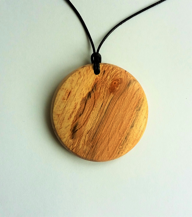 Spalted Beech Pendant 435