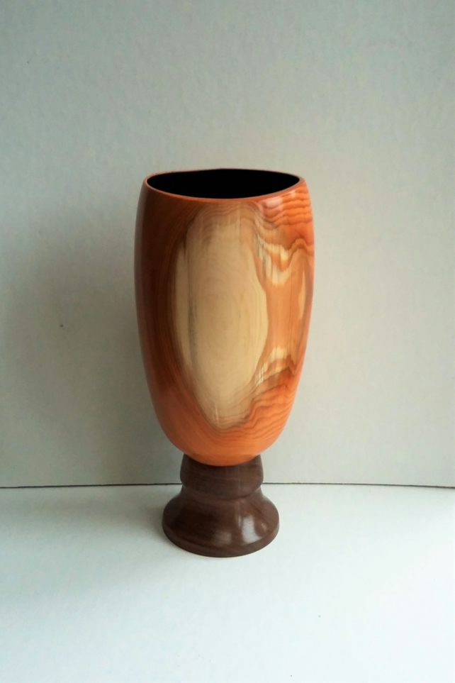 Yew and Walnut Open Form 459