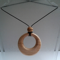 Sycamore Wood Pendant 760