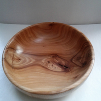 English Elm Wood Bowl 802