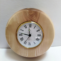Ash Wood Wall Clock 870