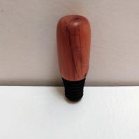 Yew Wood Bottle Stopper 871