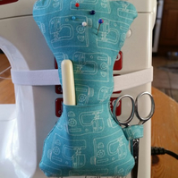 mannequin shaped pin cushion to attach to your sewing machine