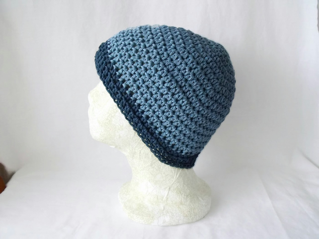 Unisex Crocheted Cotton Chemo Hat Or Hair Loss Folksy