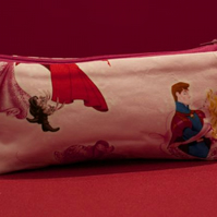 Pink Disney Princesses pencil Case