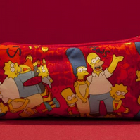 Simpsons Red Pencil Case
