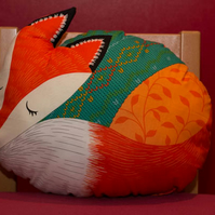 Rusty Fox Cushion