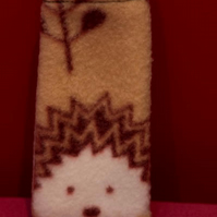 Woodland fleece iPod case