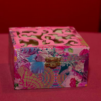 Medium Decopatch Jewellery Box