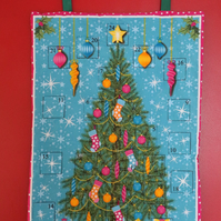 Bright Christmas Tree Advent Calendar