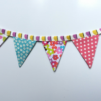 Fridge bunting (retro)