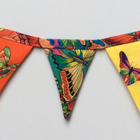 REDUCED Fridge bunting (butterflies)