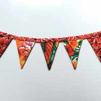 REDUCED Fridge bunting (tropical)