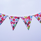 Mini magnetic bunting (flowers)