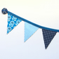 Fridge bunting (blue)