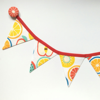 Fridge bunting (fruits)