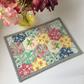 Mug rug (hexagon.flowers)