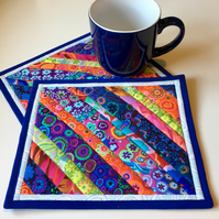 Mug rug (tropical string)