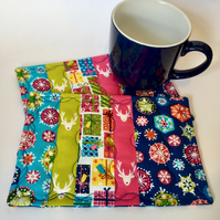 Christmas Mug Rugs (pair)