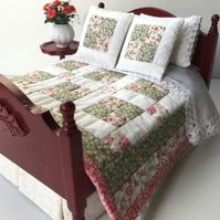 1:12 Double Bed Quilt Set